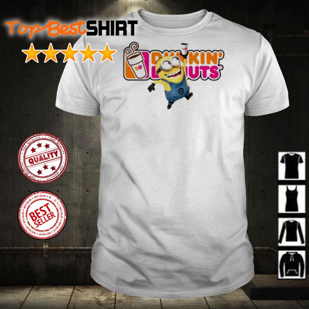 Minion love Dunkin' Donuts shirt