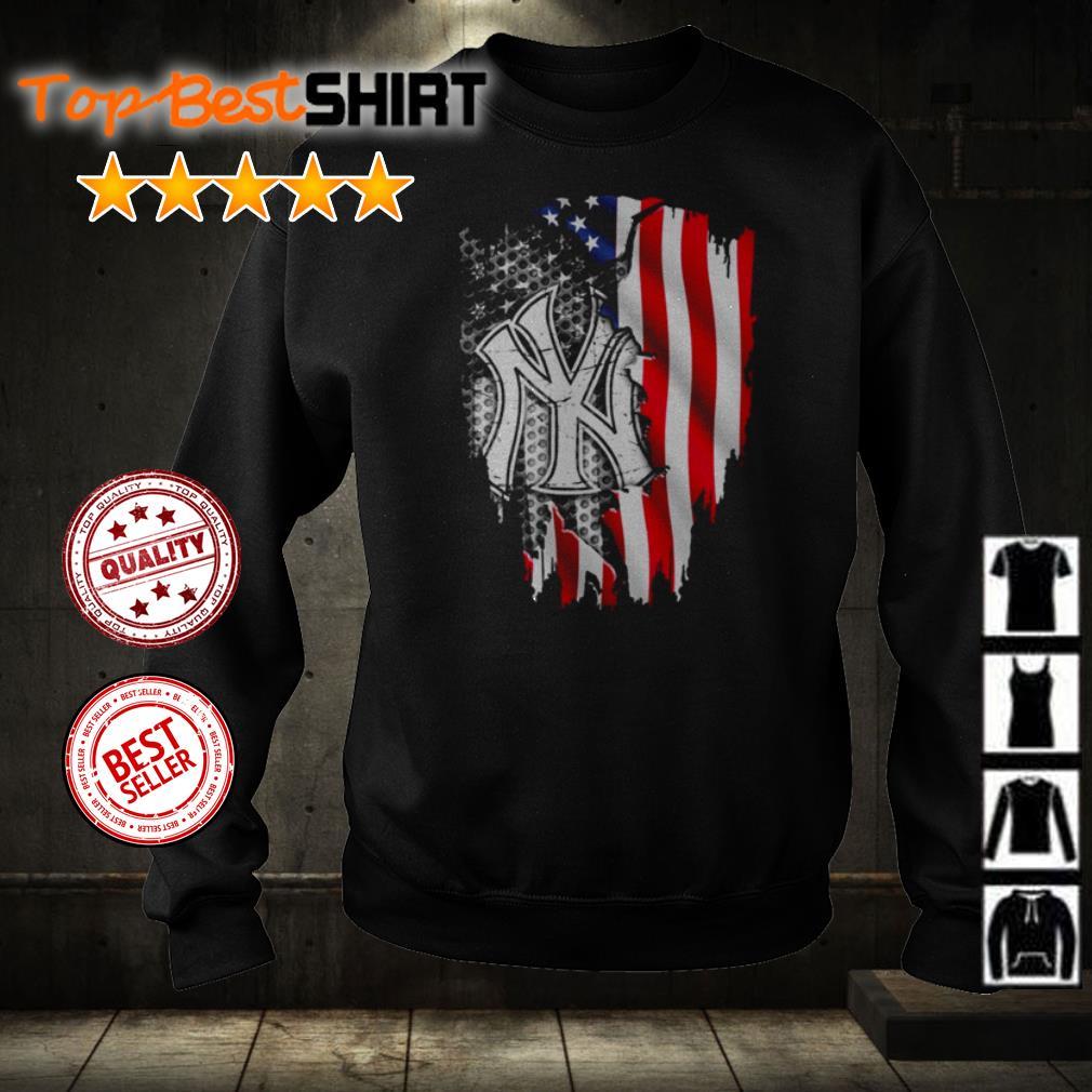 New York Yankees American Flag shirt