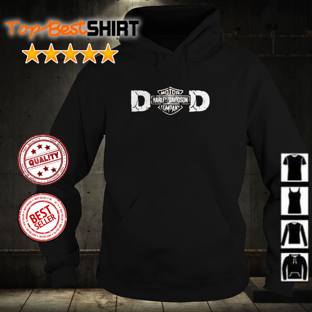 Dad motor company Harley Davidson shirt