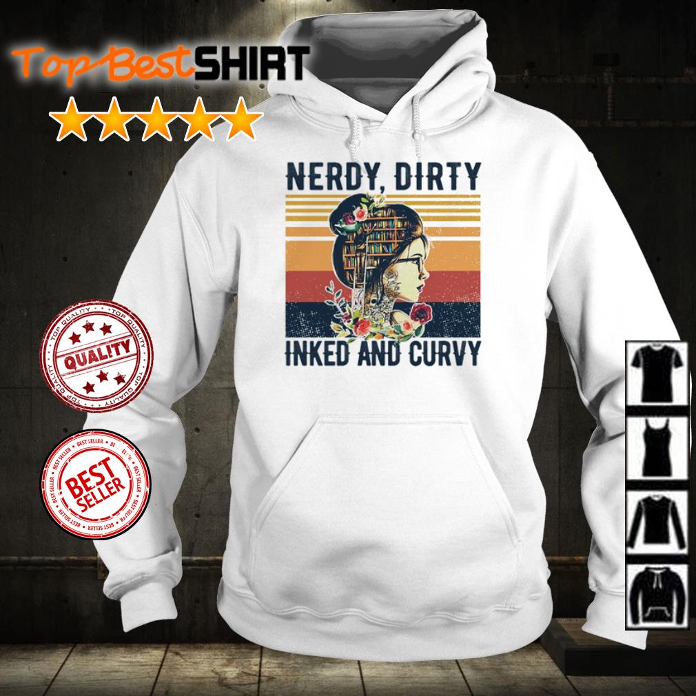 Nerdy dirty inked and curvy vintage shirt