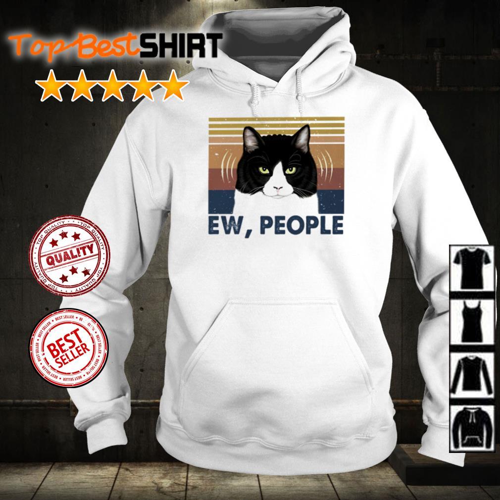 Official Cat ew people shirt