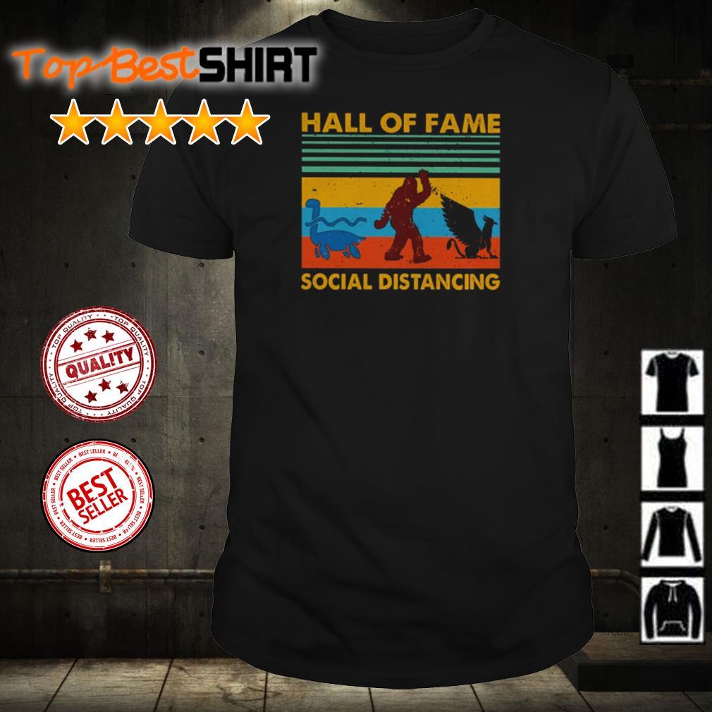 Hall of fame social distancing shirt