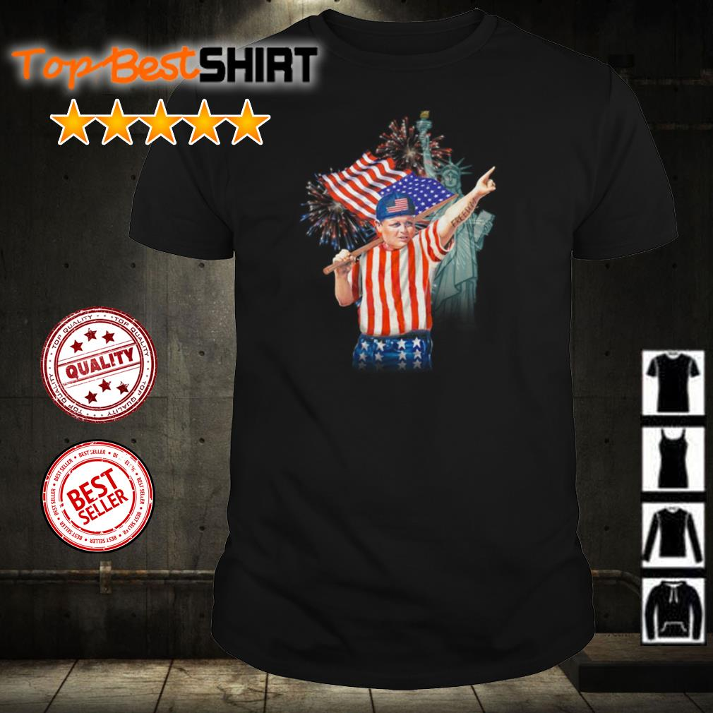 Fat kid American Freedom Independence shirt