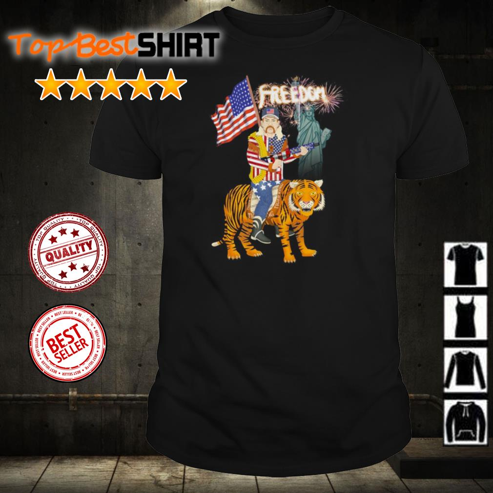 Joe Exotic American Freedom Independence shirt