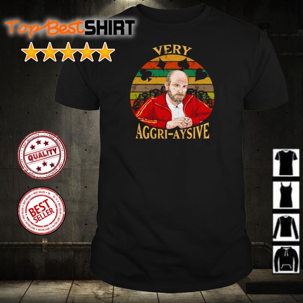 Rounders Teddy KGB very aggri aysive vintage shirt