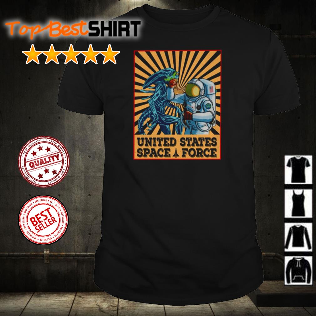 Astronaut punch Alien United States Space Force shirt shirt