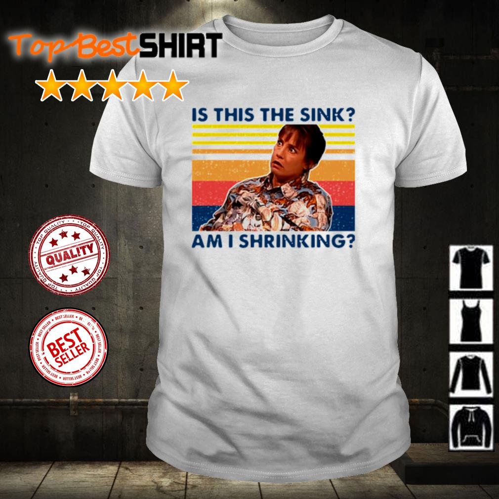 Jackie Harris is this the sink am I shrinking vintage shirt