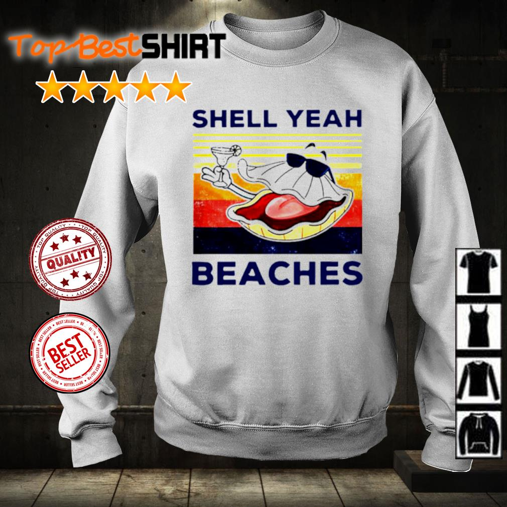 Shell yeah beaches vintage s sweater
