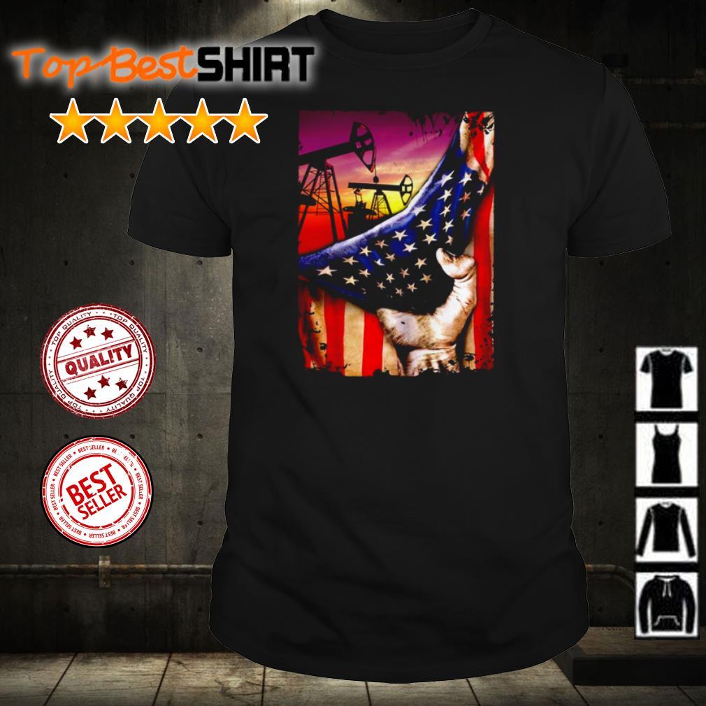 Oils American Flag shirt