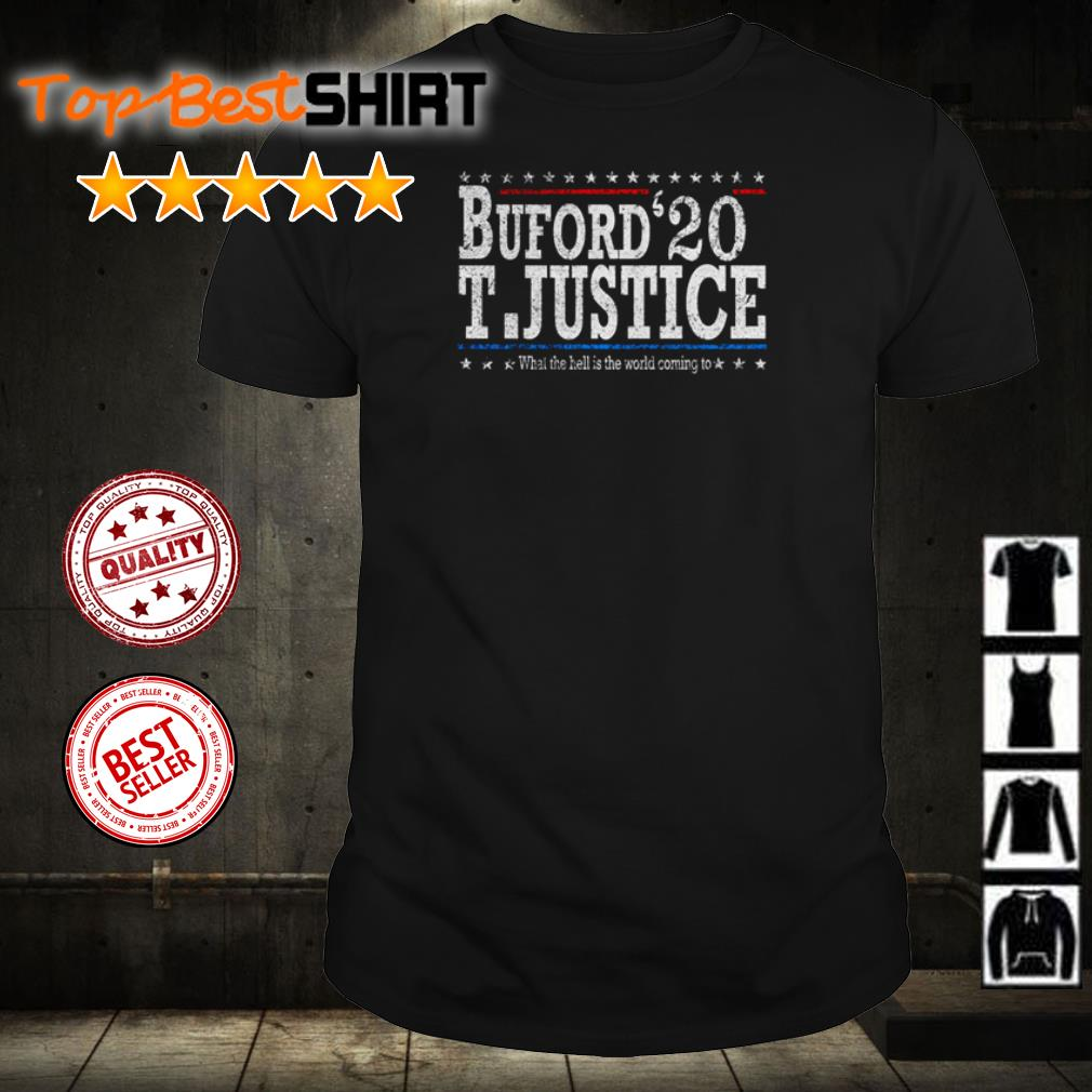 Buford '20 T.Justice shirt