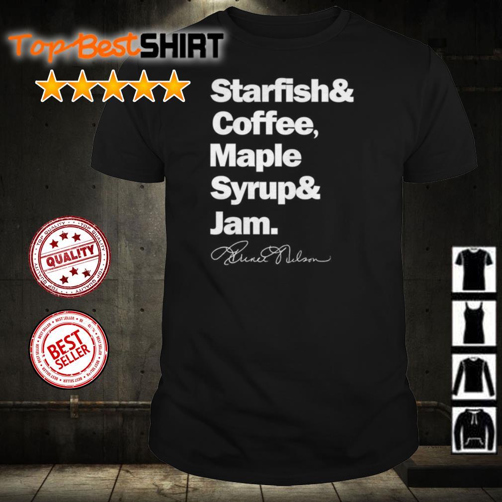 Prince starfish coffee maple syrup and jam shirt