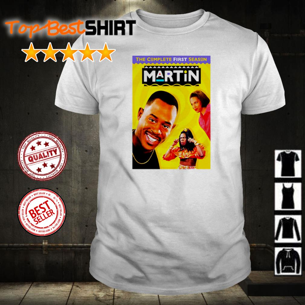 The complete first season Martin shirt