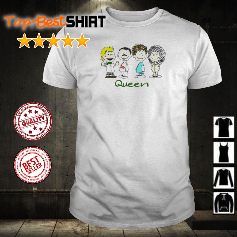 Official Queen Cartoon Characters shirt