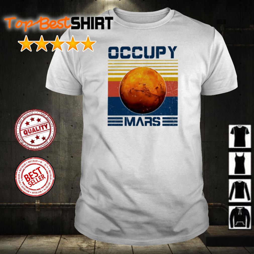 Offcial Occupy Mars vintage shirt
