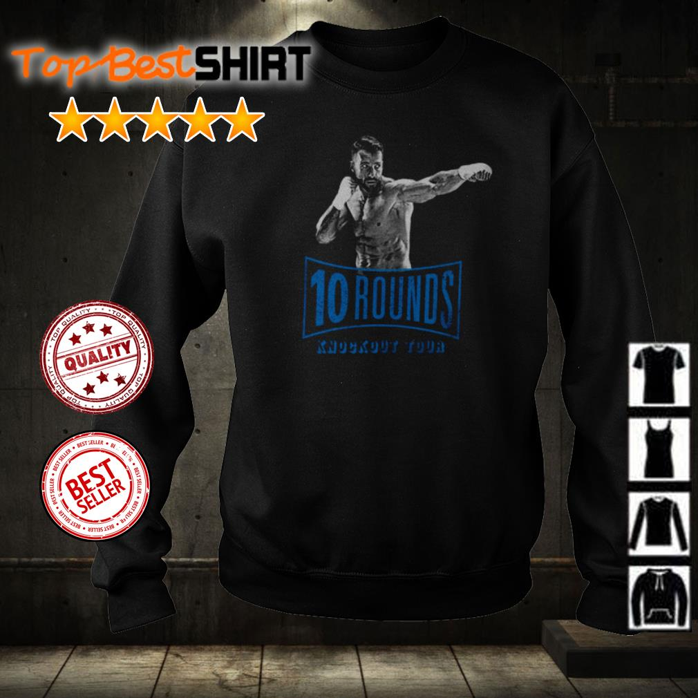 10 rounds knockout tour shirt