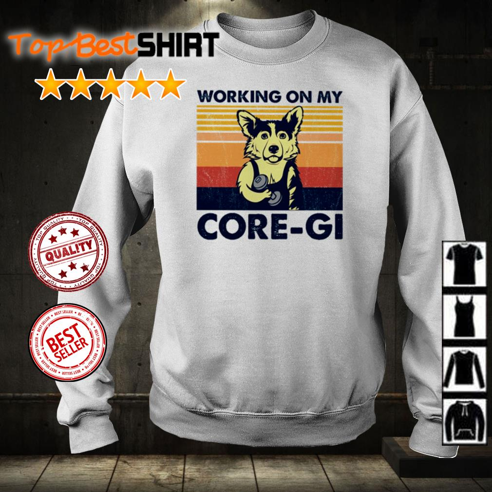 Working on my core-gi vintage shirt