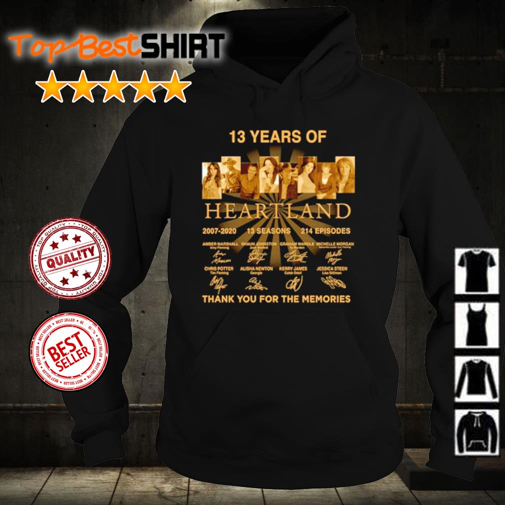 13 years of Heartland thank you for the memories s hoodie