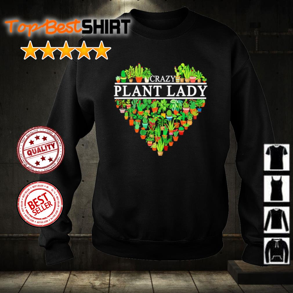 Crazy plant lady s sweater