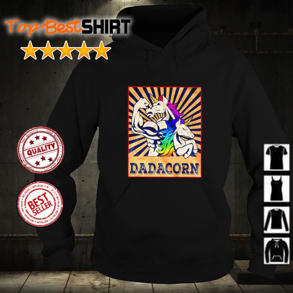 Dadacorn LGBT Pride s hoodie