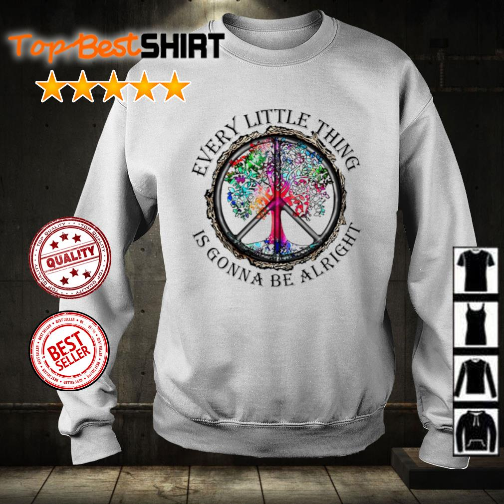 Hippie every little thing is gonna be alright s sweater
