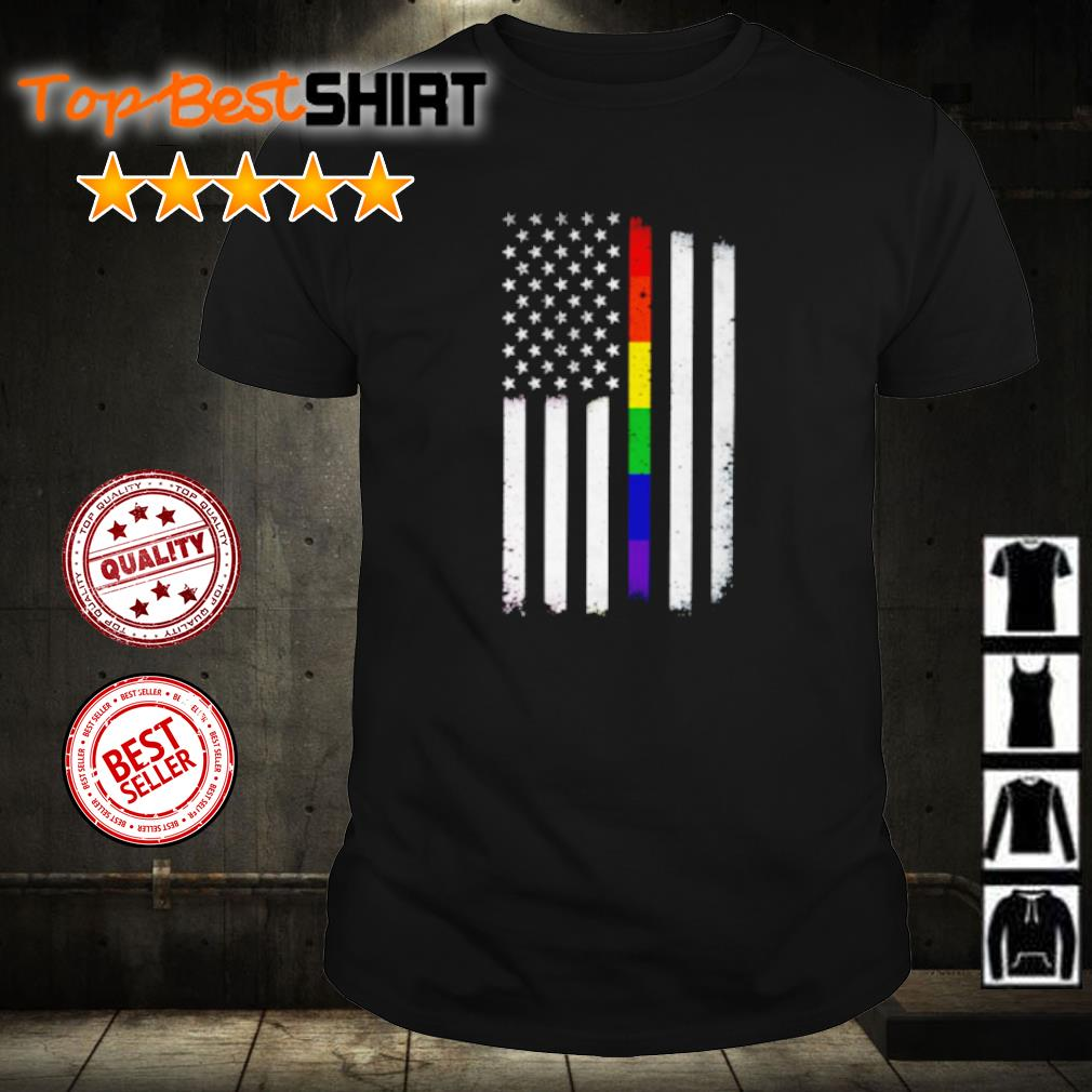LGBT American Flag shirt