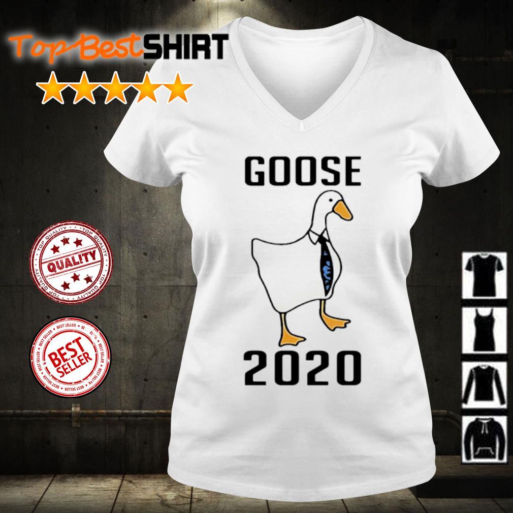 Official Goose 2020 s v-neck-t-shirt
