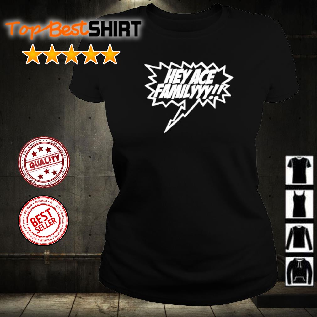 Official Hey ACE Familyyy s ladies-tee