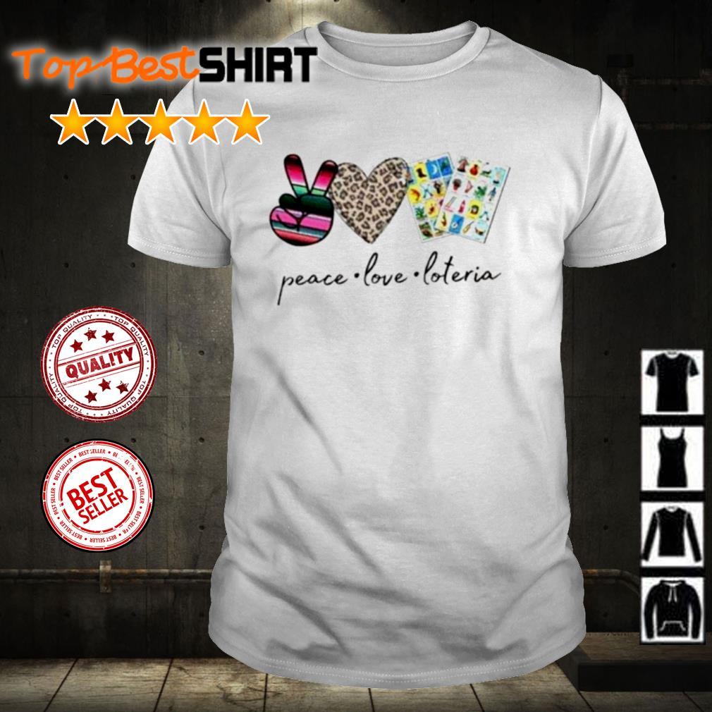 Peace love poteria shirt