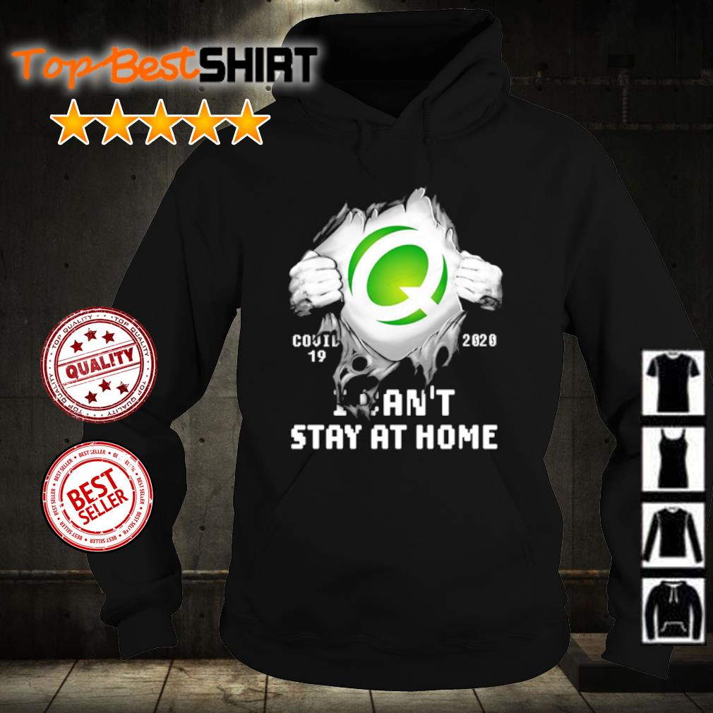 Q Covid-19 2020 I can't stay at home s hoodie