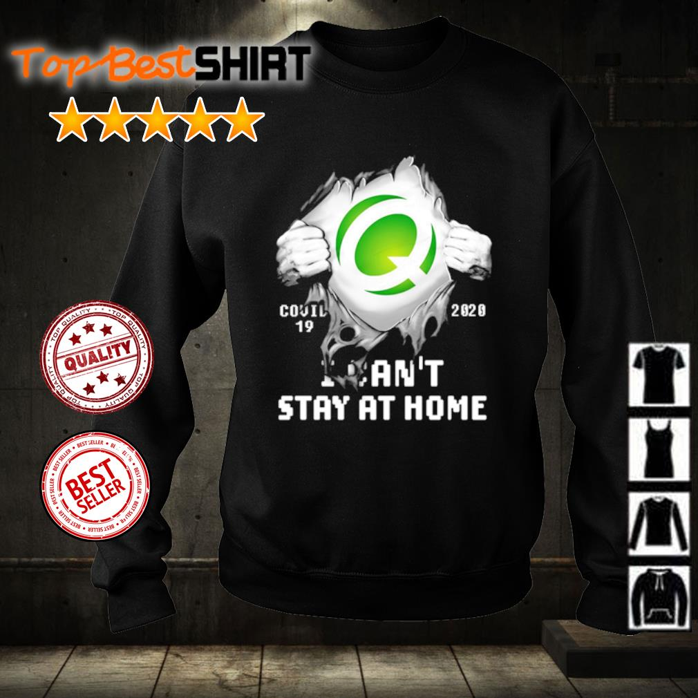 Q Covid-19 2020 I can't stay at home s sweater