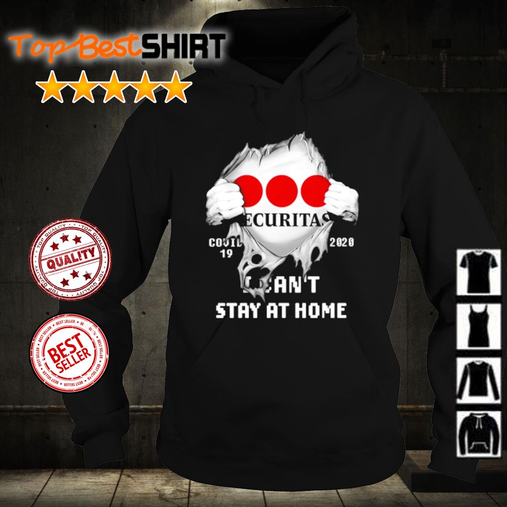 Securitas Covid-19 2020 I can't stay at home s hoodie