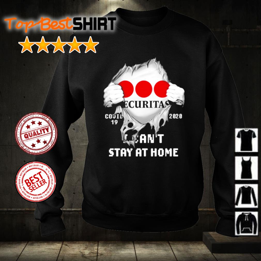Securitas Covid-19 2020 I can't stay at home s sweater