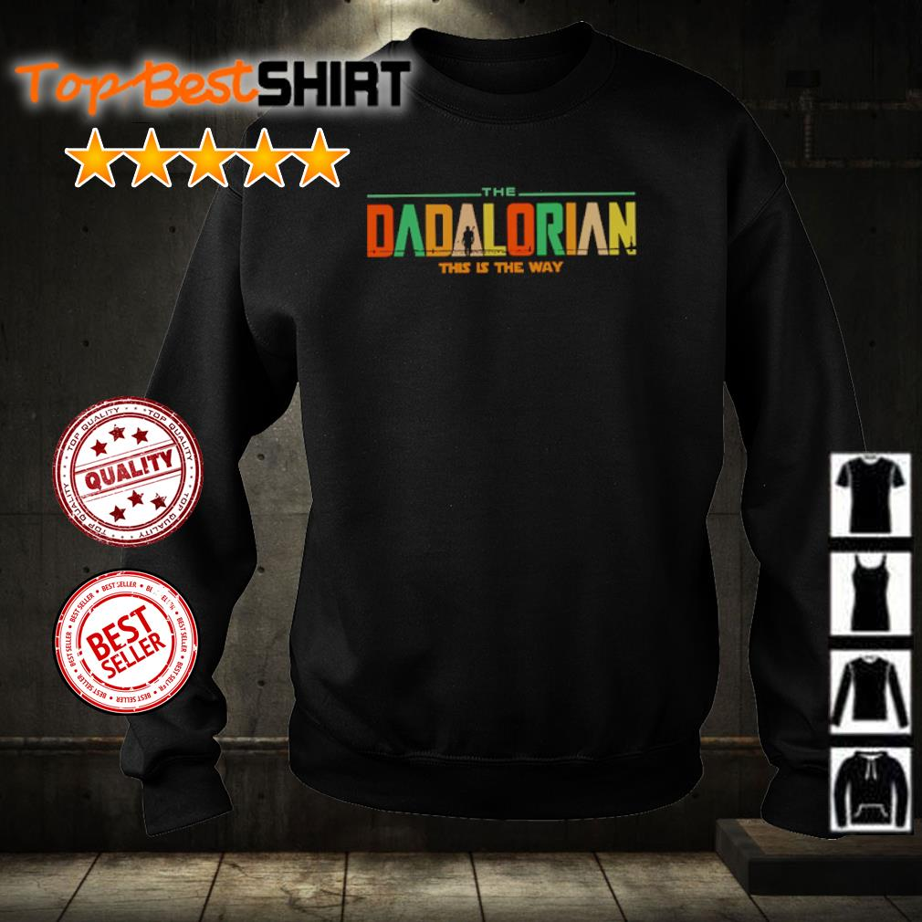 The Dadalorian this is the way s sweater