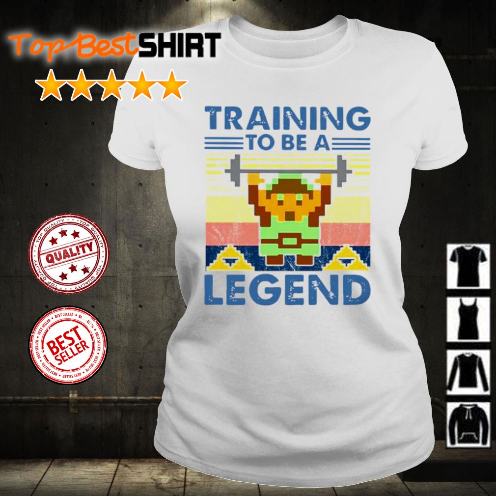 Training To Be A Legend Vintage s ladies-tee