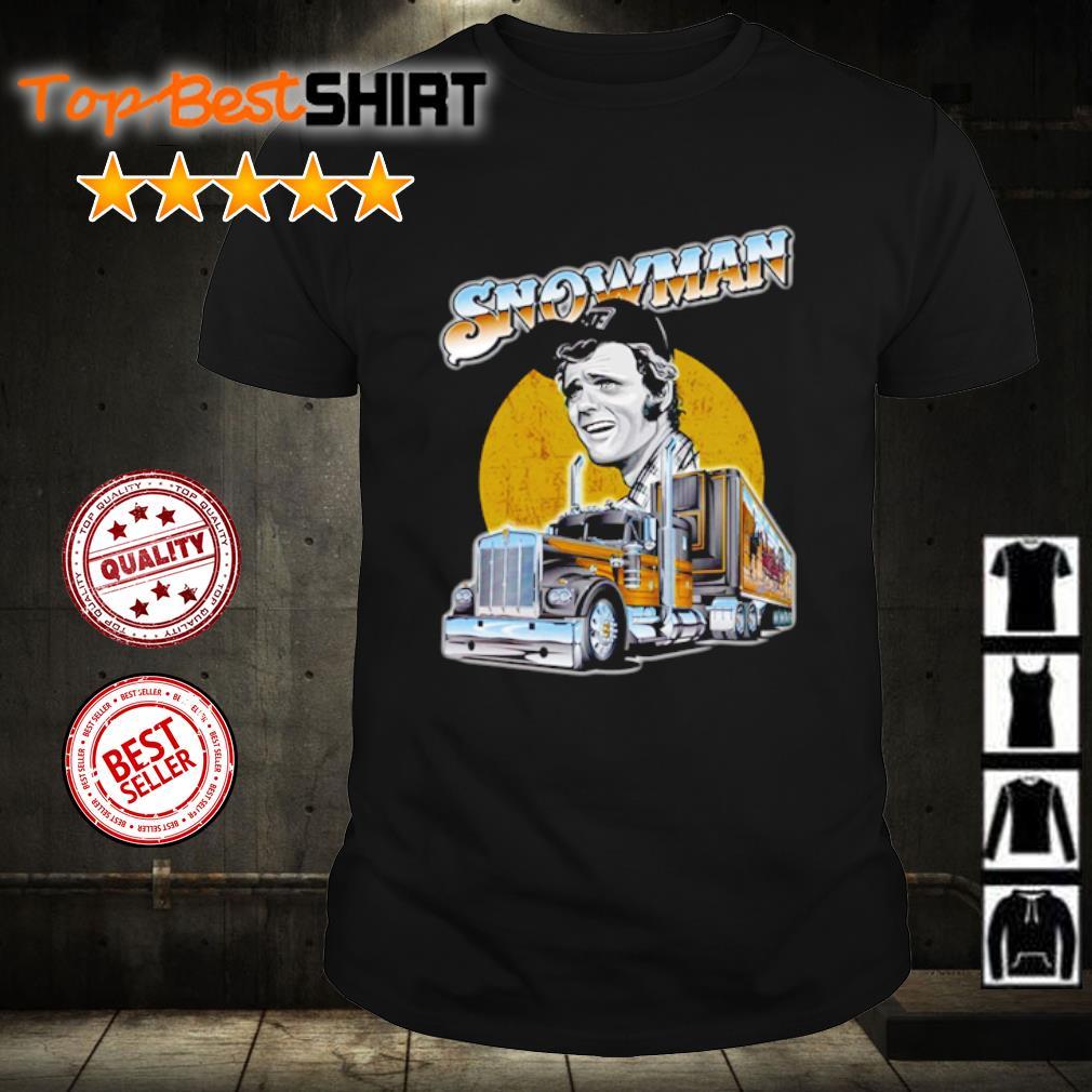 Trucker Jerry Reed Snowman shirt