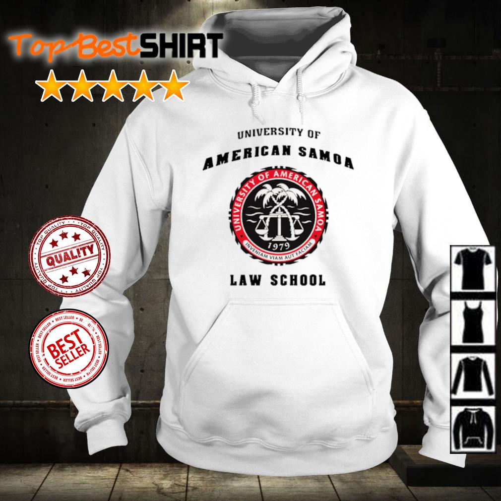 University of American Samoa law school s hoodie