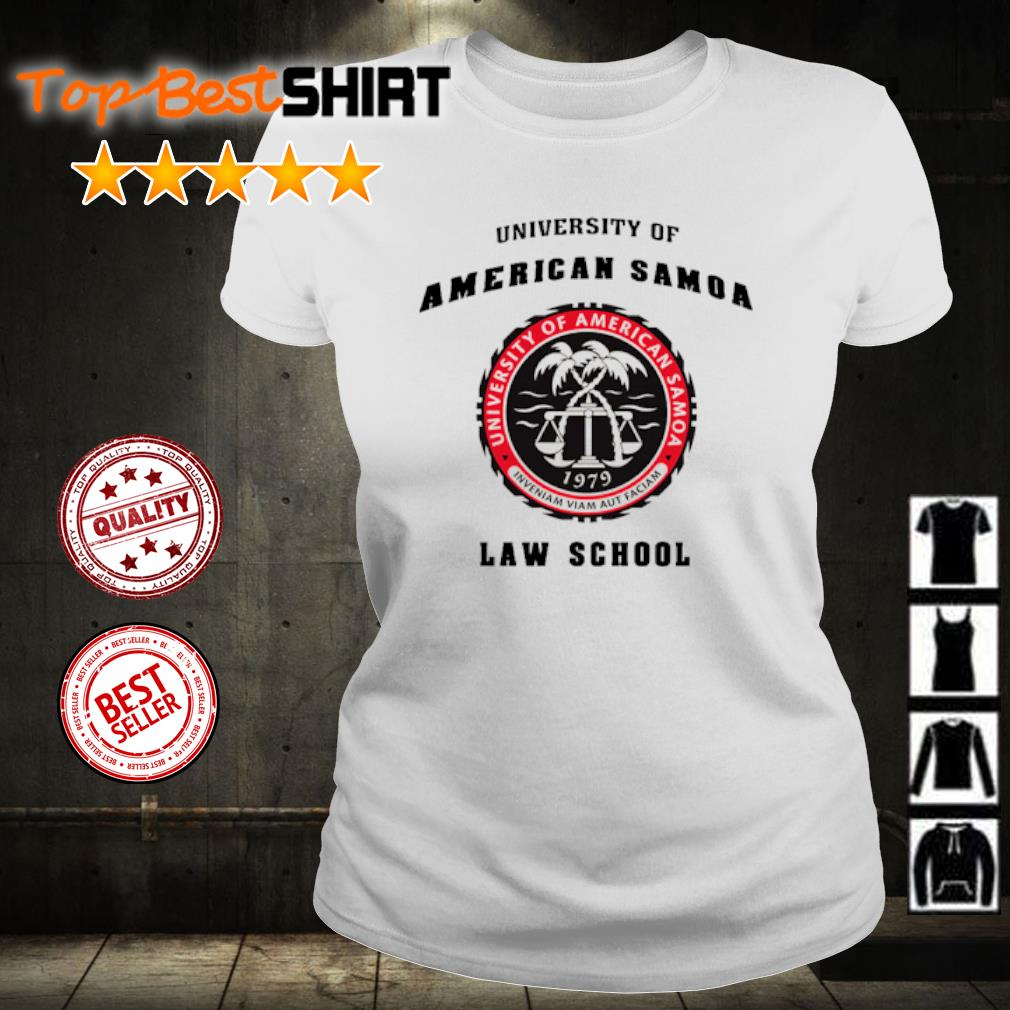 University of American Samoa law school s ladies-tee