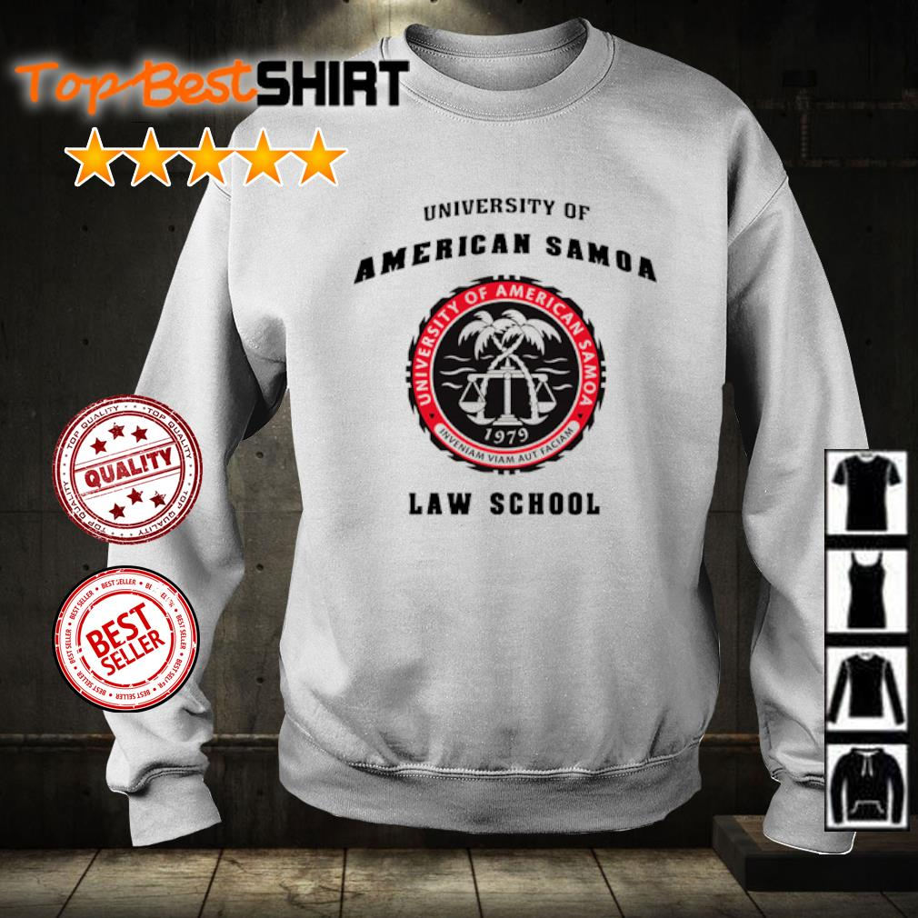 University of American Samoa law school s sweater