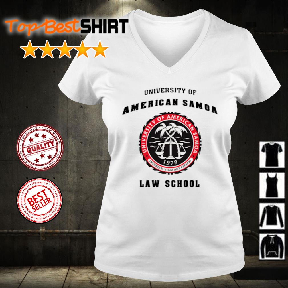 University of American Samoa law school s v-neck-t-shirt