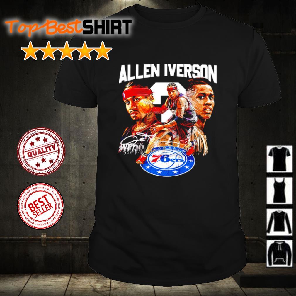 Allen Iverson Philadelphia 76ers shirt