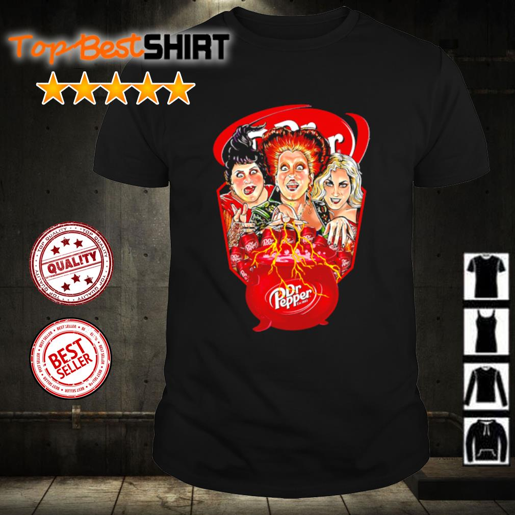 Hocus Pocus Drink Dr Pepper Halloween shirt