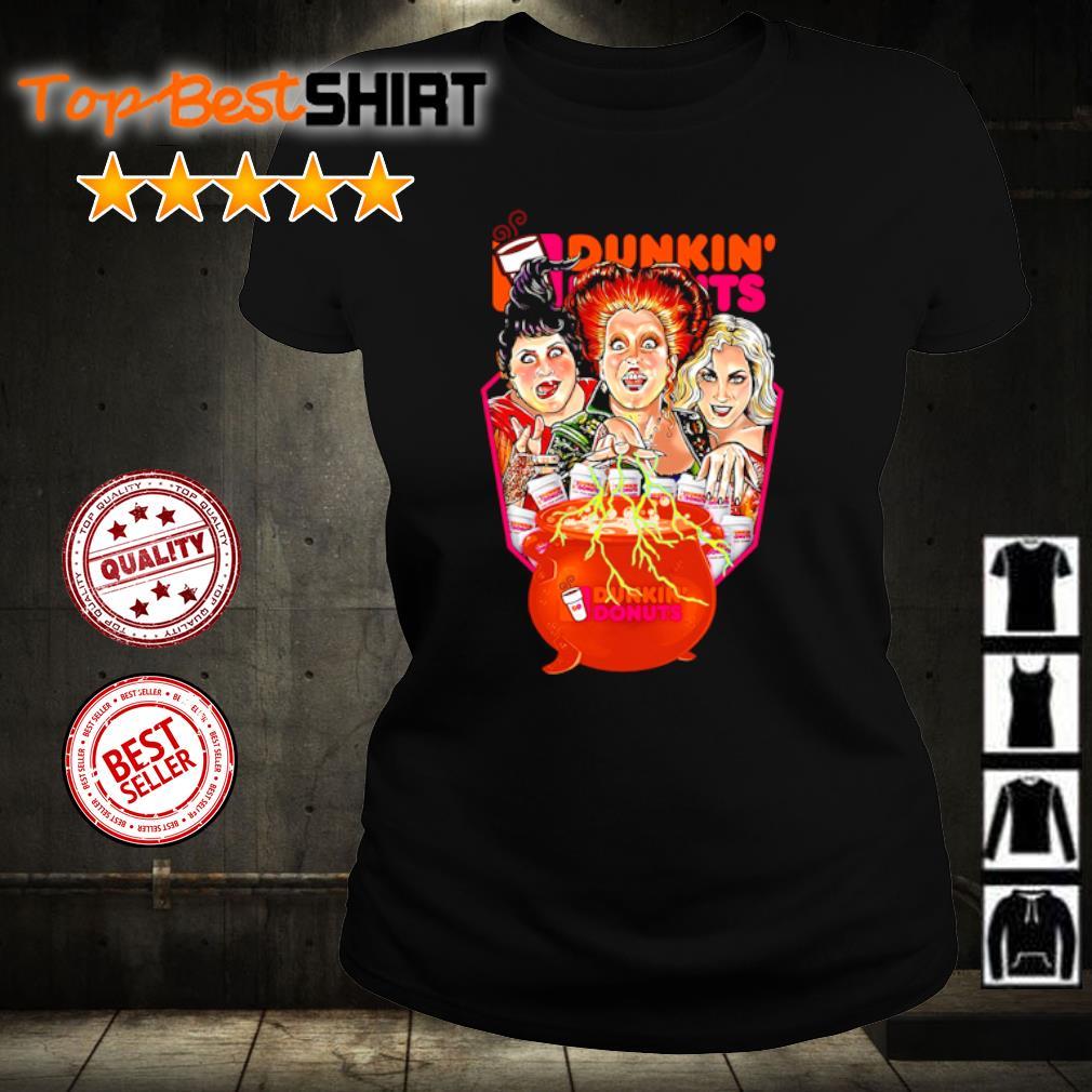 Hocus Pocus Drink Dunkin' Donuts Halloween s ladies-tee