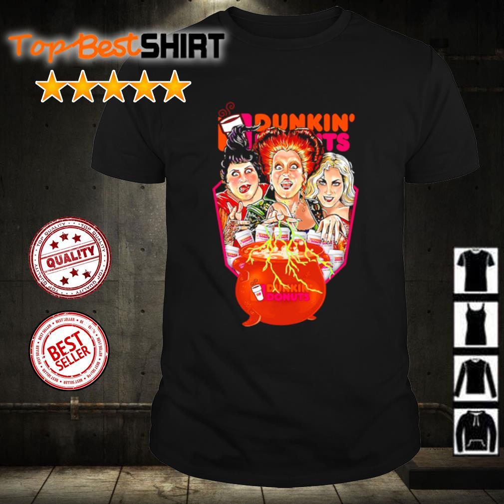 Hocus Pocus Drink Dunkin' Donuts Halloween shirt