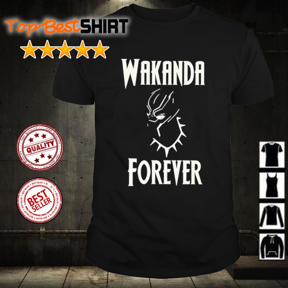 RIP Chadwick Boseman Wakanda Forever shirt