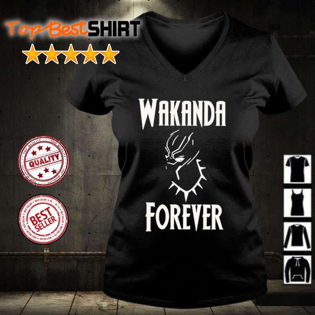 RIP Chadwick Boseman Wakanda Forever s v-neck-t-shirt