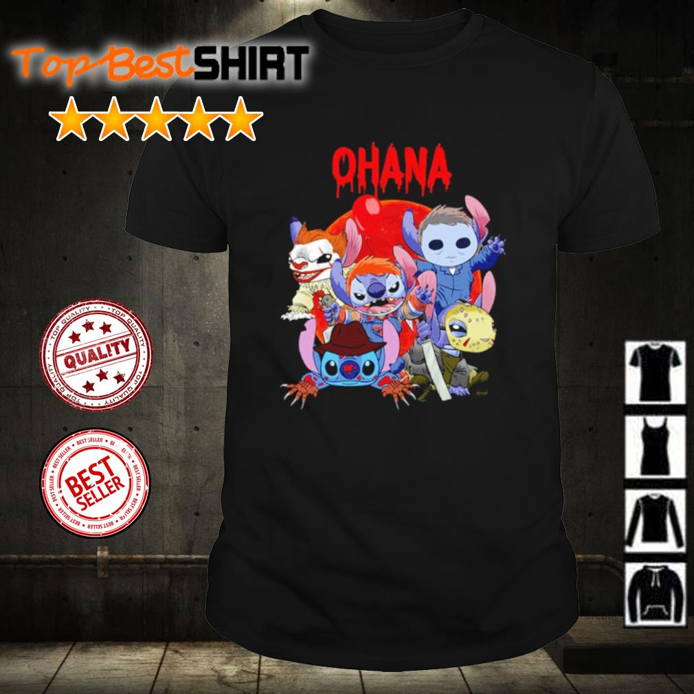 Stitch Horror Movie ohana shirt
