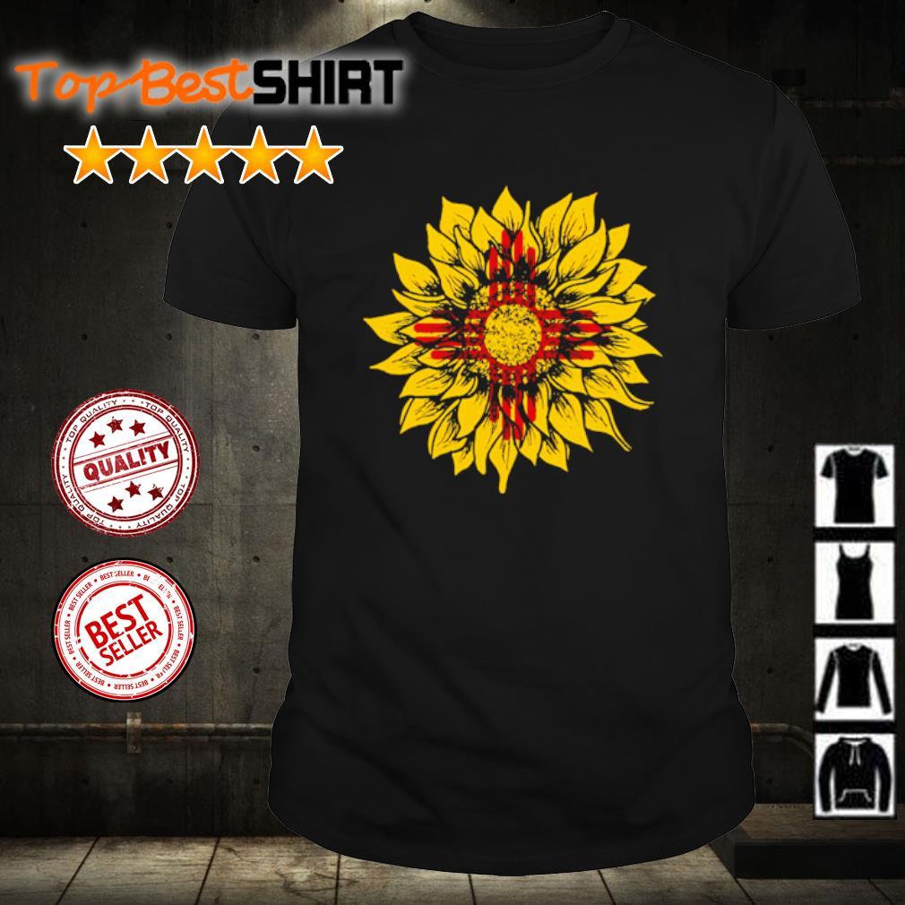 Sunflower New Mexico flag shirt