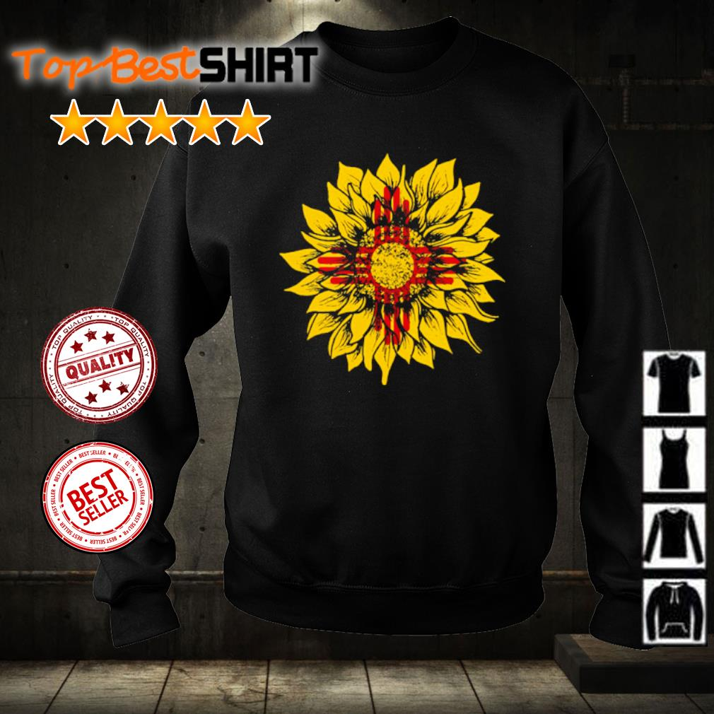 Sunflower New Mexico flag s sweater