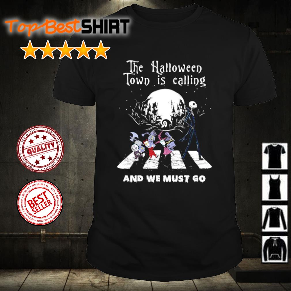 The Nightmare Abbey Read the Halloween town is calling and we must go shirt