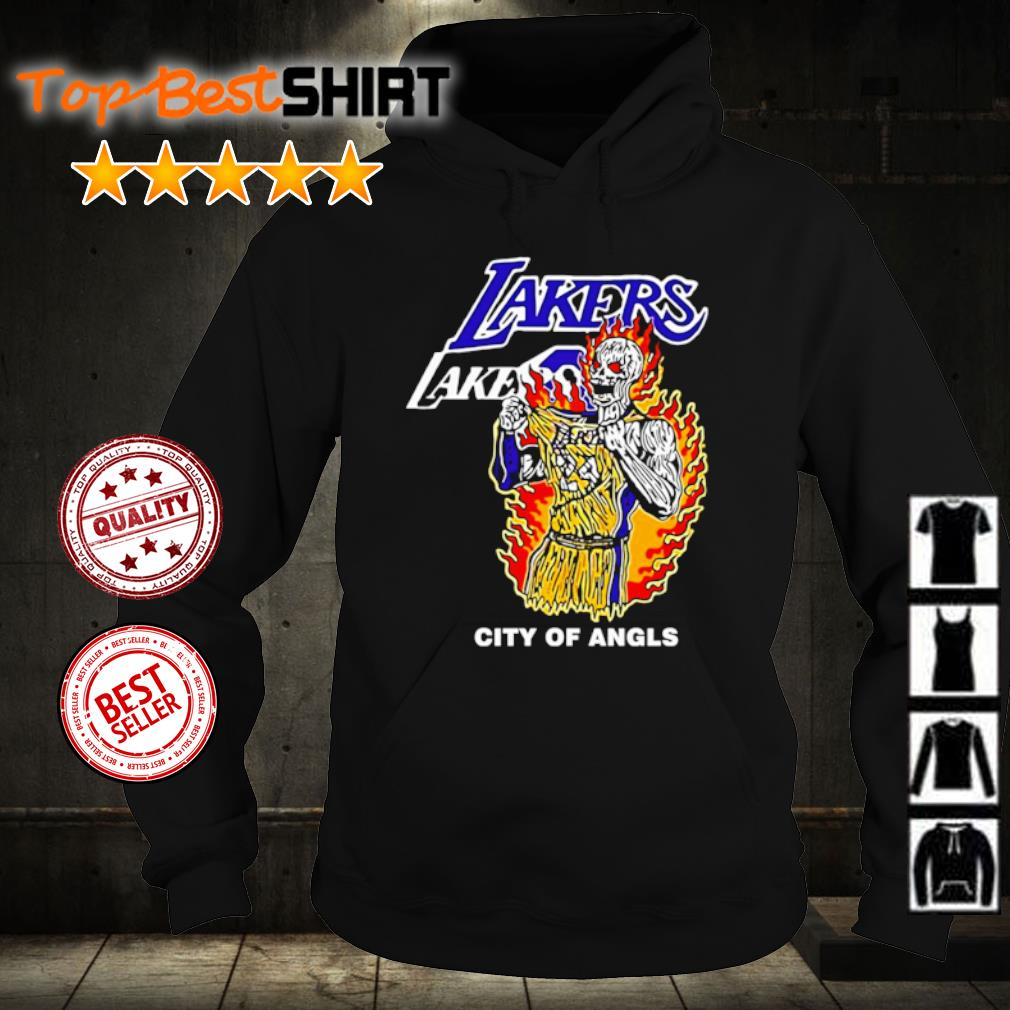 Warren Lotas Lakers City Of Angels Kobe Bryant s hoodie